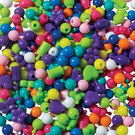 Creativity Street Pop Beads AC3540 300 Count Pack