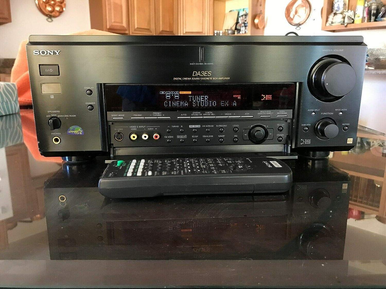 Sony STR-DA3ES - AV receiver - 6.1 channel - black