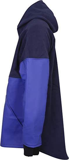 Details about  /Stormline Atlantic 809 Fleece//PVC Pullover Jacket L Blue Large