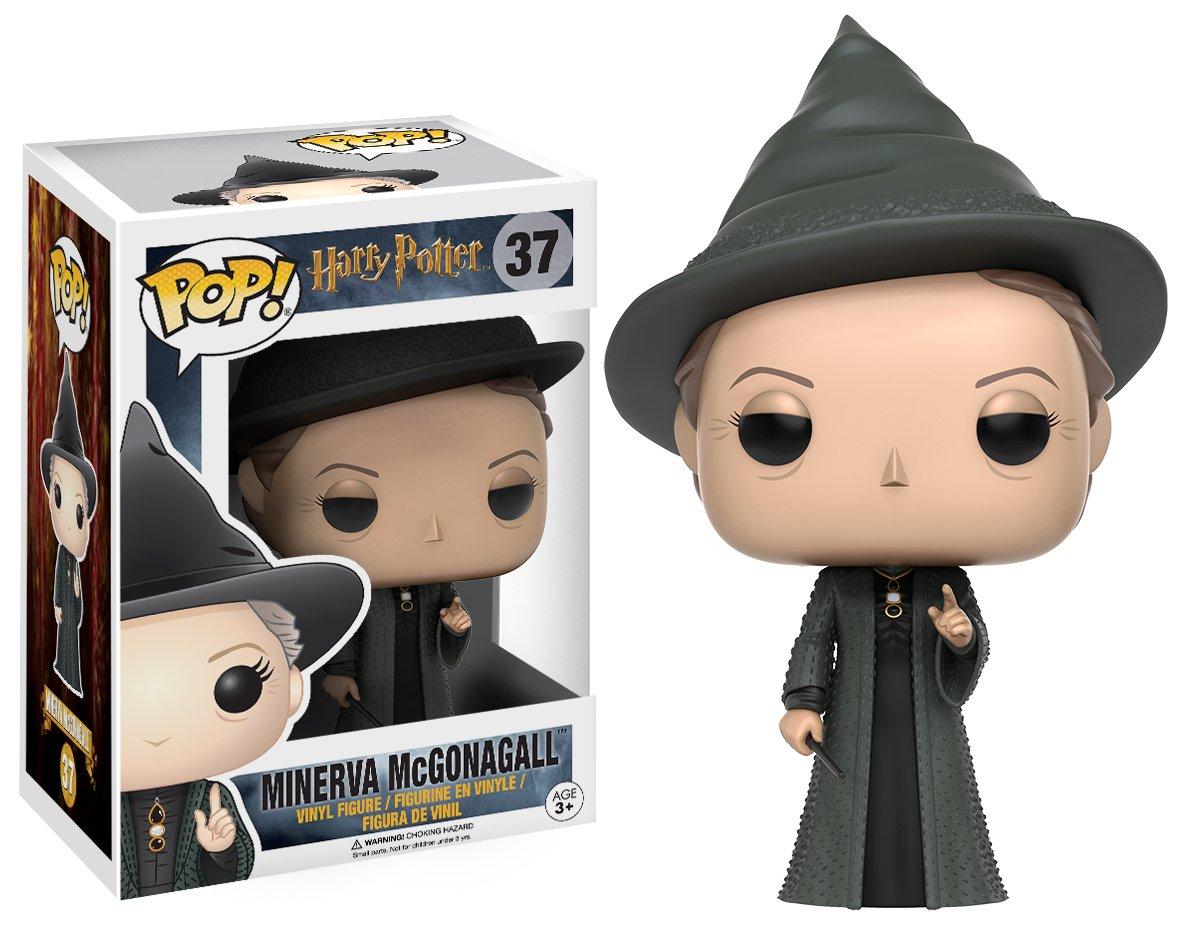 Funko- Minerva McGonagall Figura de Vinilo, colección de Pop, seria Harry Potter, Talla única (10989)