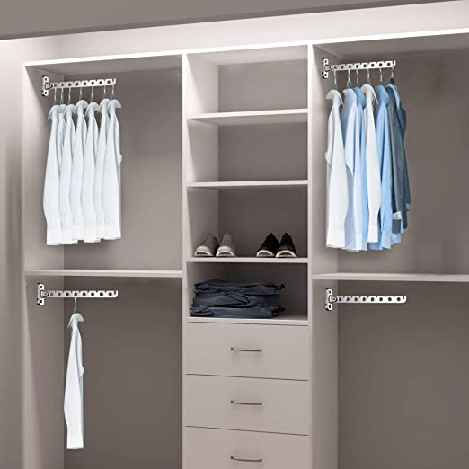 Amazon.com: ASHOP - Perchero de pared para colgar ropa ...