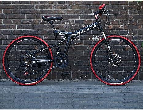 21 Velocidad Unisexo Bicicleta de montaña de Doble suspensión 24 ...