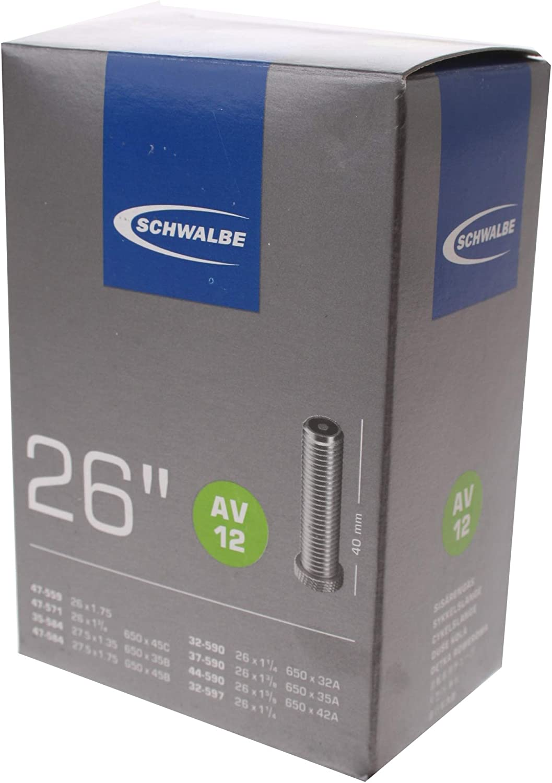 Schwalbe Tube 26 - Cámara de Aire para Bicicletas, tamaño 26x1 3/8 ...
