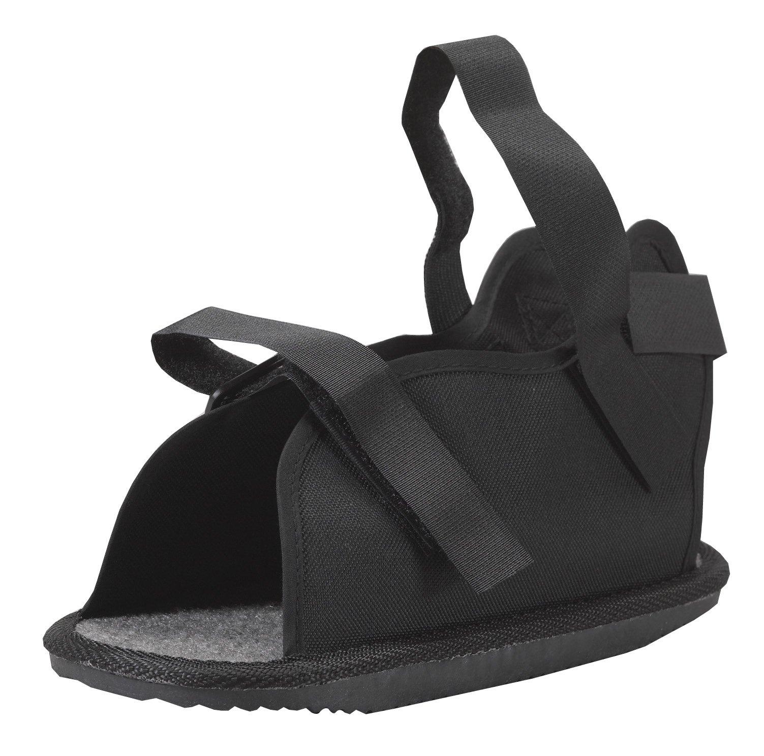 Bilt-Rite Mastex Health Economy Open Toe Cast Boot, Black, Large