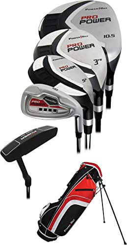 Powerbilt Golf- Pro Power Complete Golf Set with Bag