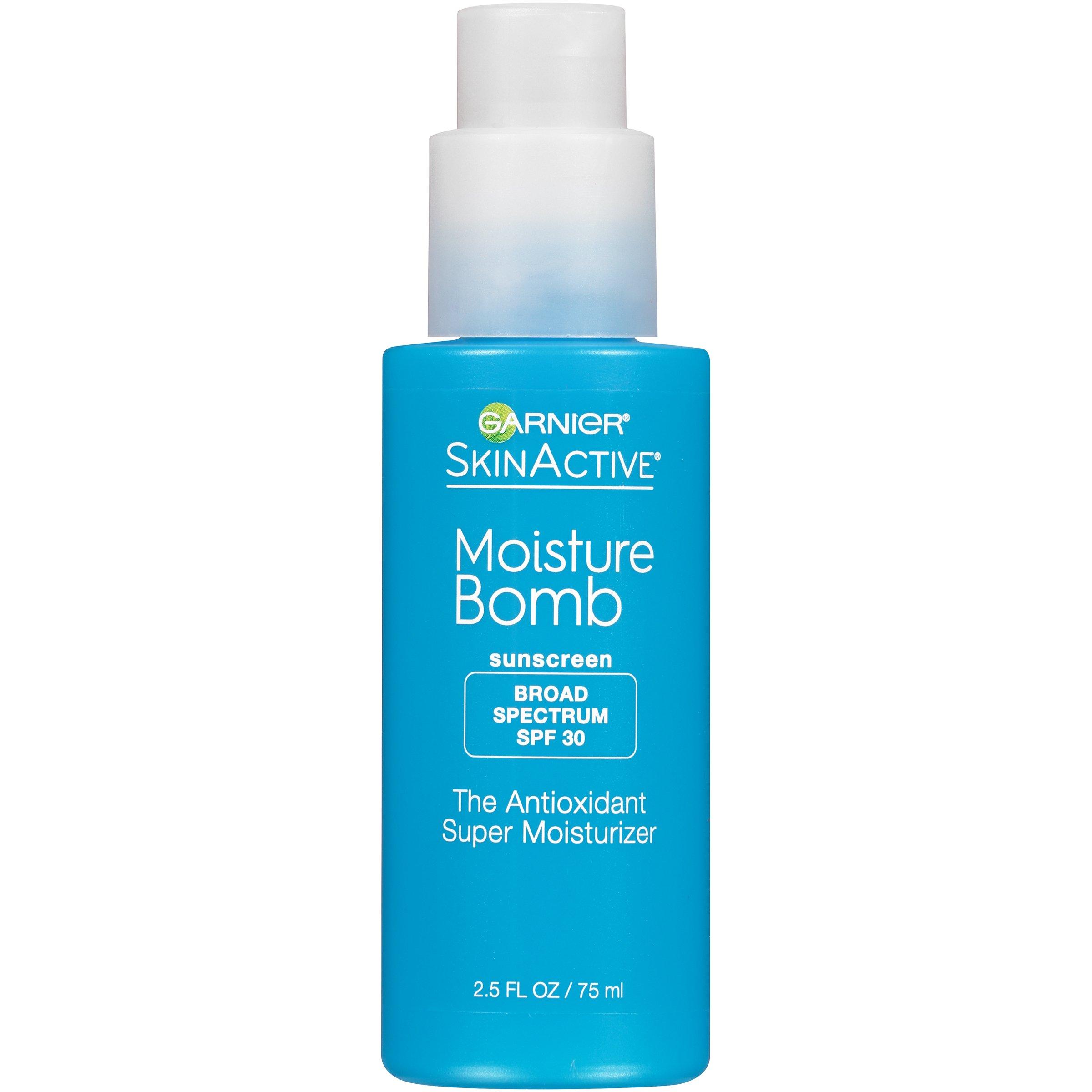 Garnier SkinActive SPF 30 Moisturizer with Hyaluronic Acid,  2.5 fl. oz.