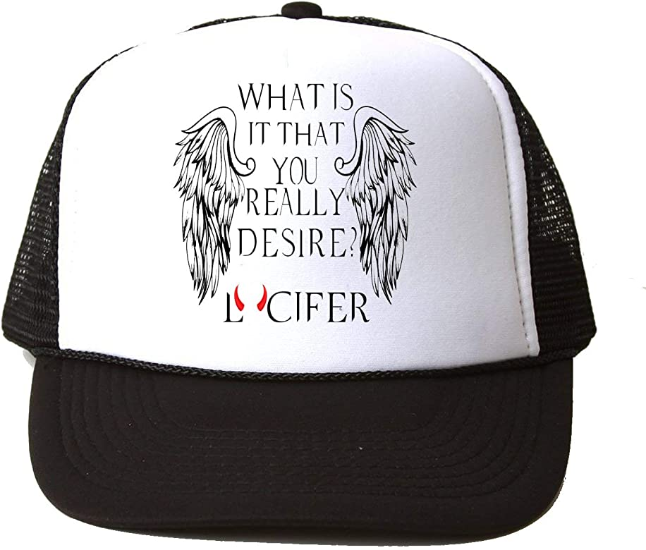 What Is It That You Really Desire? Lucifer Baseball Cap Hat Gorra ...