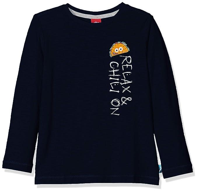 s.Oliver Camiseta de Manga Larga para Ni/ños