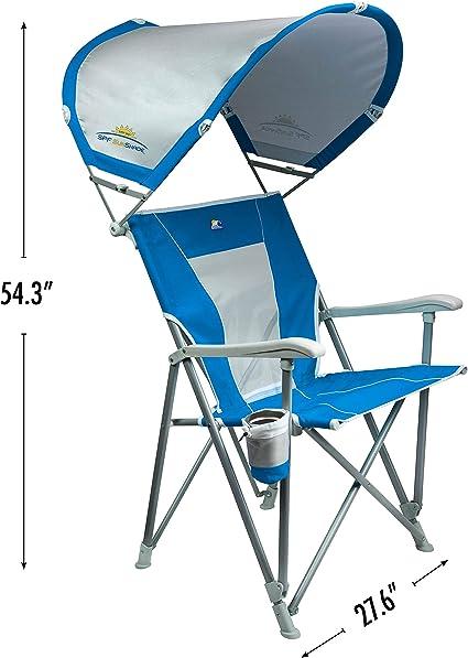 Garden Sun Parasol pedkit Camping Chair Parasols Sunshade Umbrella with Clamp Sun Protection Shelter 2 pcs Green 105 cm
