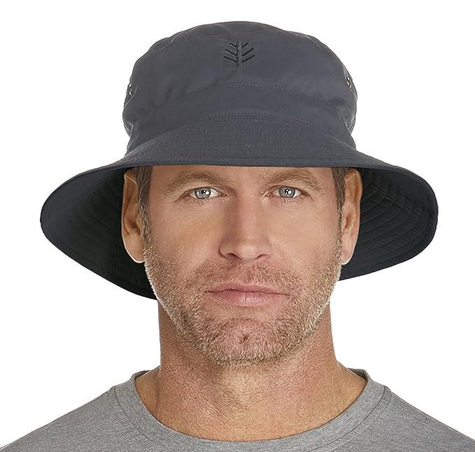 504a2916683269 Sun Protective Coolibar UPF 50 Mens Featherweight Bucket Hat