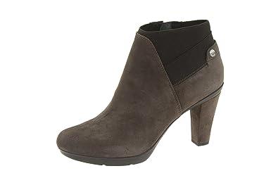 2017 Geox Schuhe Boots Schwarz Ankle Inspirat St B Inspirat