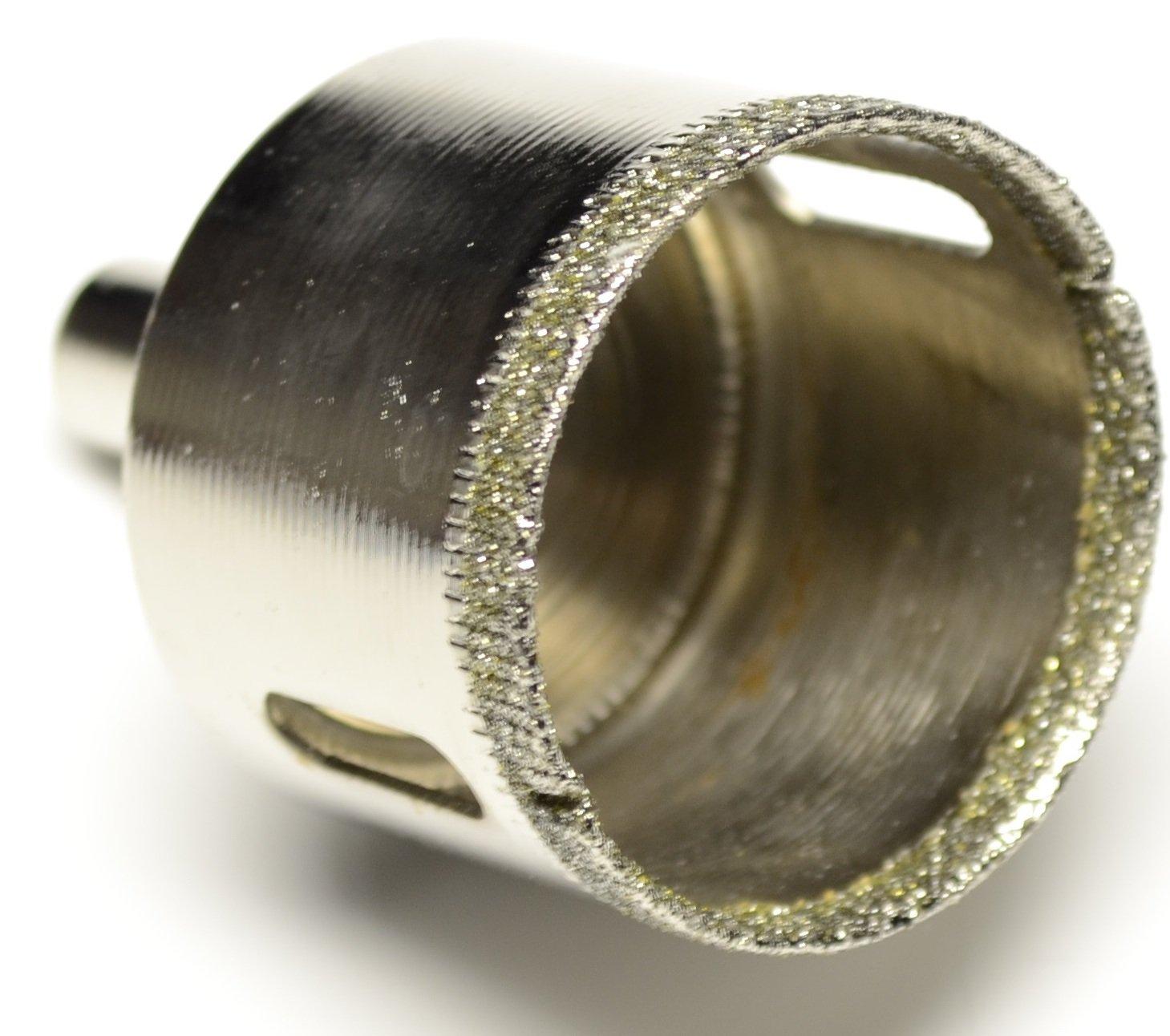Enez Fliesenbohrer Glasbohrer Diamantbohrer Lochs/äge Bohrkrone /Ø 38 mm B 8