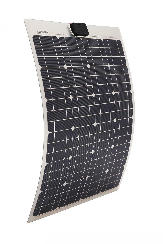 40 W semi-flexible lé ger Mono Panneau solaire 24 pcs Cell Panneau pour Yacht Home RV Toit de montage Camper Systè me de chargement de batterie 12 V OCE