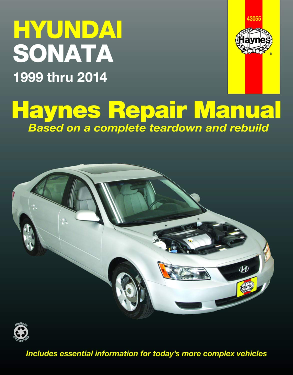 hyundai sonata (99-14) haynes repair manual: editors of haynes manuals:  9781620920848: amazon.com: books  amazon.com