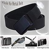 """WYuZe 1.25""""/1.5"""" Nylon Belt All Size No Metal"""