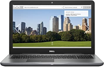 "Dell Inspiron I5565_A1081TGSW10s_218 Laptop 15.6"" FHD, AMD A10-9620P, 8GB RAM, 1TB HDD, Windows 10, Color Gris"