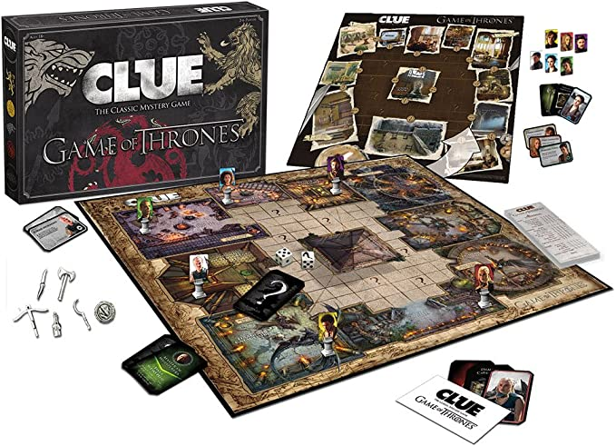 CLUE: Game of Thrones Board Game by USAopoly: Amazon.es: Juguetes y juegos