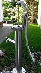 Handschwengelpumpe ca. 75 cm - Handpumpe aus Edelstahl