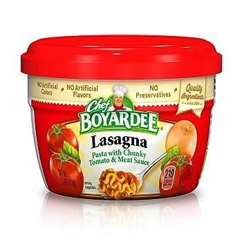 Chef Boyardee Frozen Lasagna