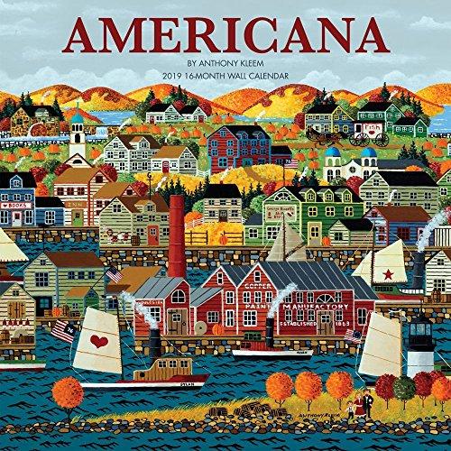 2019 Americana 2019 Wall Calendar, Scenic America by Leap Year Publishing LLC