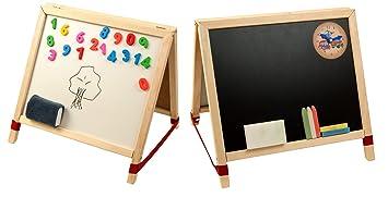 LASSE spela - Soporte de mesa pizarra Whiteboard Madera ...