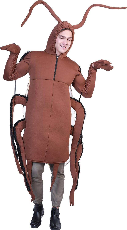 Roach Costume Adult Cockroach Funny Halloween Fancy Dress