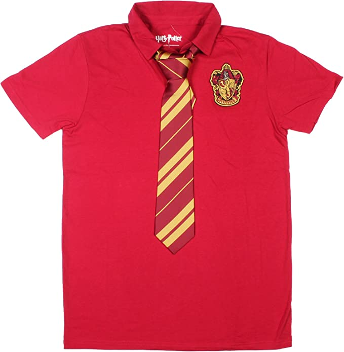 HARRY POTTER Gryffindor Polo con Corbata: Amazon.es: Ropa y accesorios