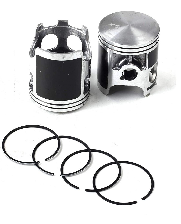 Piston Gasket Crankshaft Air Filter Kit for Yamaha Banshee YFZ350 YFZ 350 1987~2006 BLACK color Cylinder