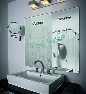 ACETHERMI Lamina antivaho Espejo de baños Medida 60cmx40cm: Amazon.es: Hogar