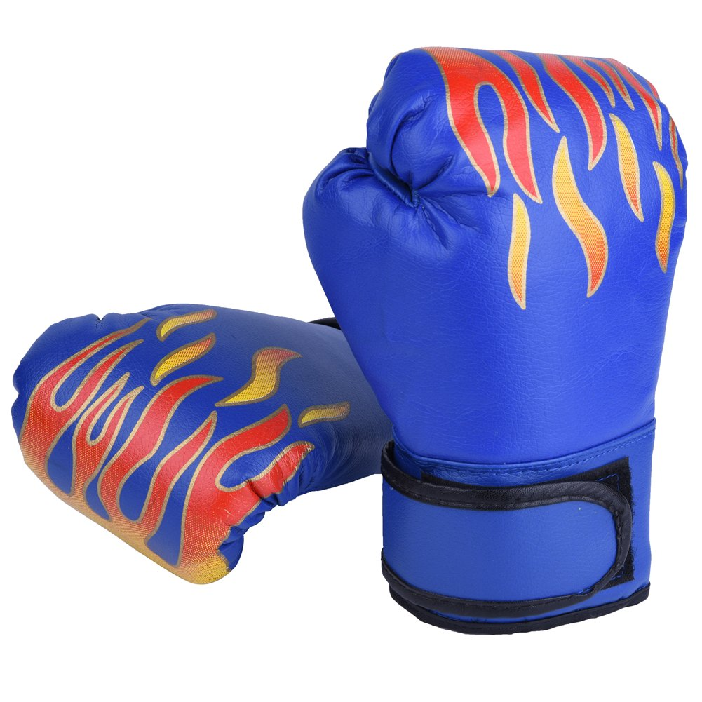 GLOGLOW 3/ Farben PU Kinder Boxhandschuhe Kinder Cartoon MMA Sparring Training Handschuhe Muay Thai Sparring Training Handschuhe