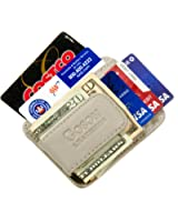 Goson Leather Money Clip & Credit Card Holder - Top Grain Cowhide Leather only P&P Inc.