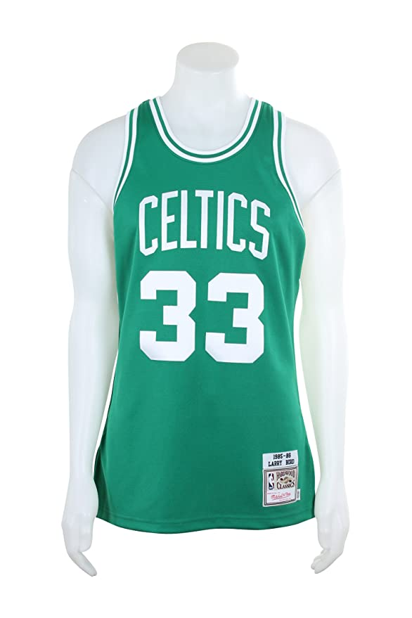 787dea35a Amazon.com   Mitchell   Ness Men s Boston Celtics Authentic Larry Bird  33  Basketball Jersey   Sports   Outdoors