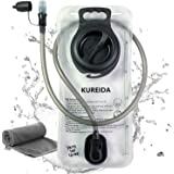 KUREIDA Hydration Bladder 2 Liter Leak Proof Water Reservoir,BPA Free,Wide Opening, Military Water Bladder Combined with Hydr