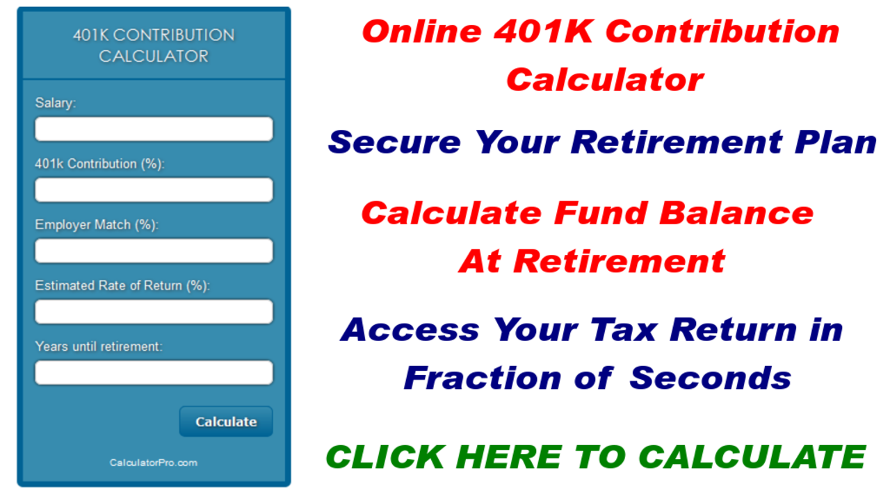 Amazon.com: 401k Contribution Calculator: Appstore for Android