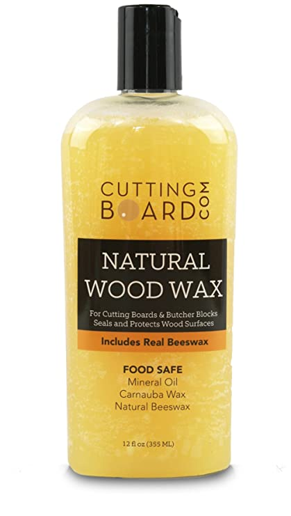 Cutting Board Wax And Conditioner, Protects Wood Countertops And Butcher  Blocks   Made In USA