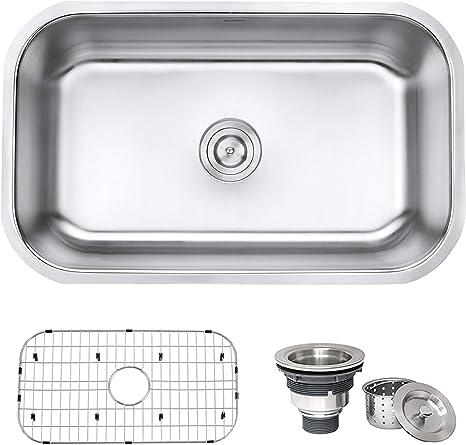 Ruvati 16 Gauge Stainless Steel Kitchen Sink