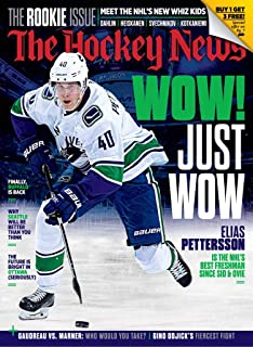 f383685aa The Hockey News Magazine (March 11, 2019) The Rookie Issue Elias Pettersson  Cover