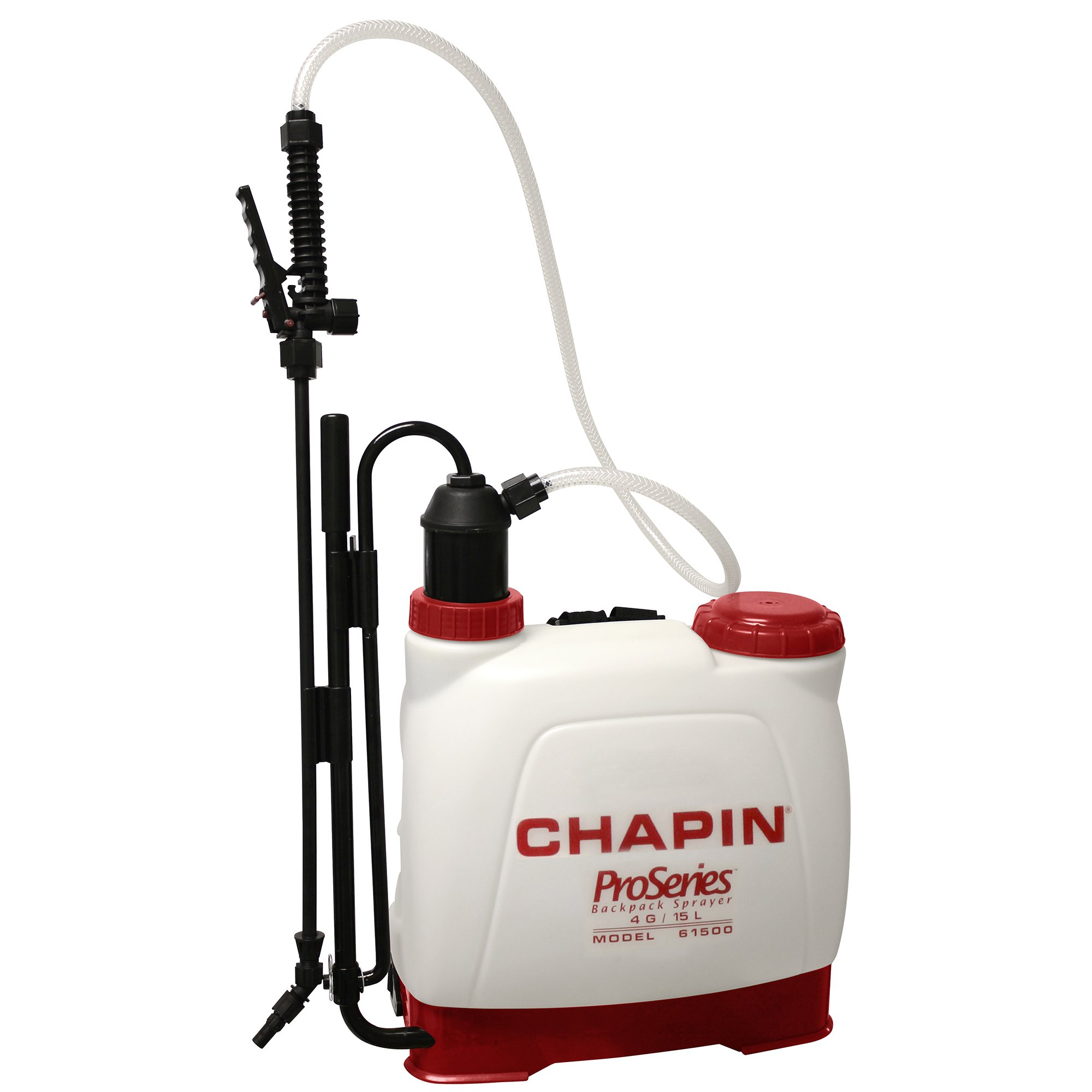 Chapin 61500 4-Gallon Euro Style Backpack Sprayer For Fertilizer, Herbicides, Pesticides and Common Household Cleaners, 4-Gallon (1 Sprayer/Package)