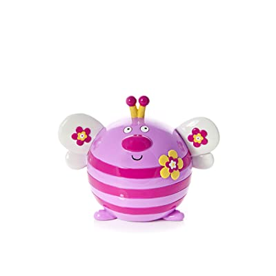Baby or Toddler Pink Butterfly Money Bank Piggy Bank Coin Box for Girls: Toys & Games