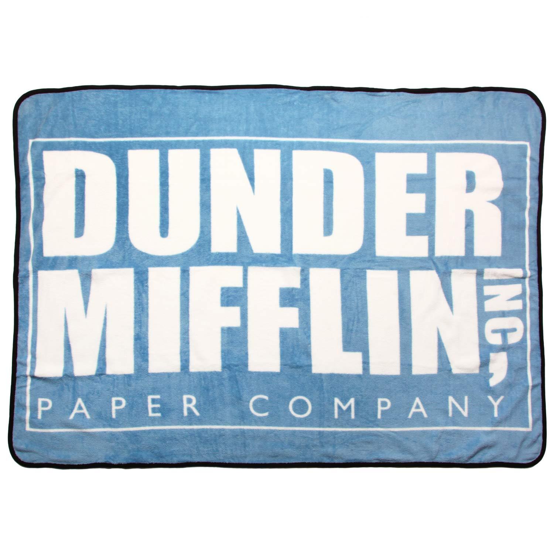 The Office Dunder Mifflin Throw Blanket