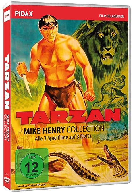 Tarzan - Mike Henry Collection / Alle 3 Tarzan-Abenteuer mit ...