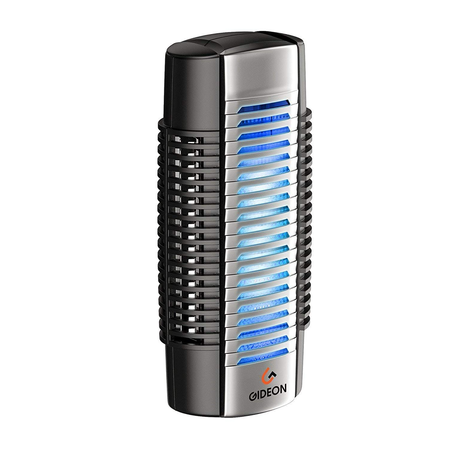 Gideon Mini Plug-in Air Ionizer Air Purifier Portable UV Air Sanitizer Helps Eliminate Germs, Odors and Allergens Such as Dust Mites and Mold Spores