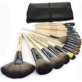 Keral 1 Set(24 pezzi) Pennelli Cosmetico Professionale Naturale per Ombretto Trucco