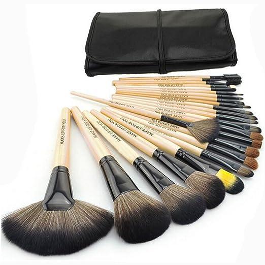 308 opinioni per 1 Set(24 pezzi) Pennelli Cosmetico Professionale Naturale per Ombretto Trucco