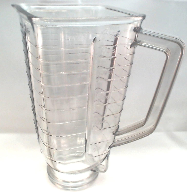 Sunbeam/Oster licuadora frasco, cuadrado, de plástico 027472 – 000 ...