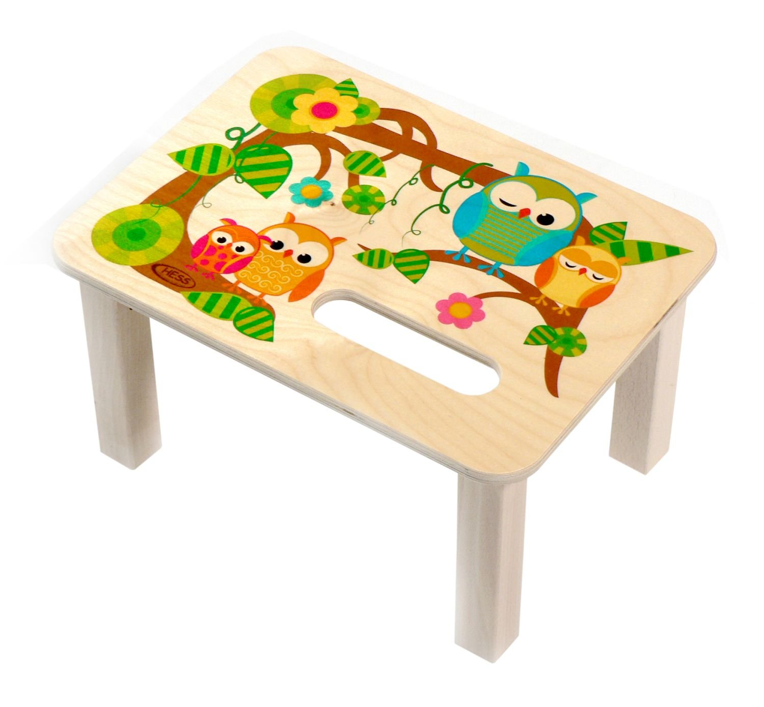 Hess Wooden Footstool Baby Toy, Owl Hess_30283
