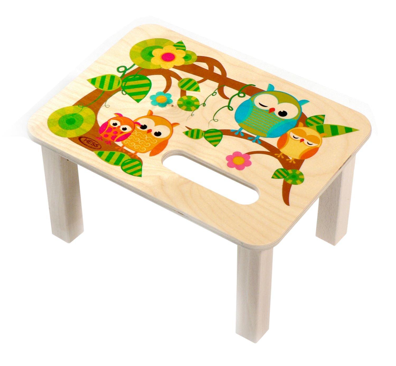 Hess 30283 - Decoració n de madera (con escabel, bú ho) búho) Hess_30283