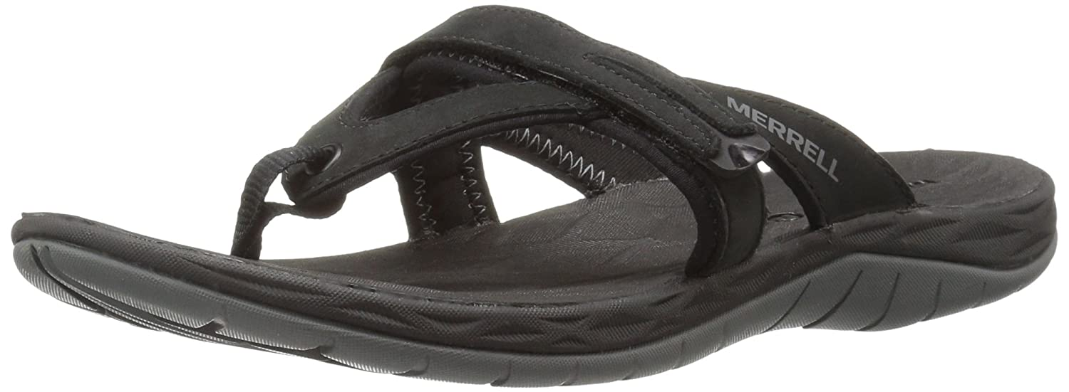Merrell Women's Siren Flip Q2 Athletic Sandal B01HGVZJSI 10 B(M) US|Black