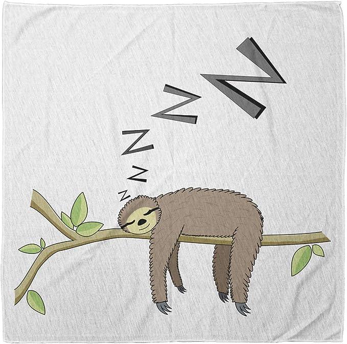 The Sleepy Sloth pet bandana