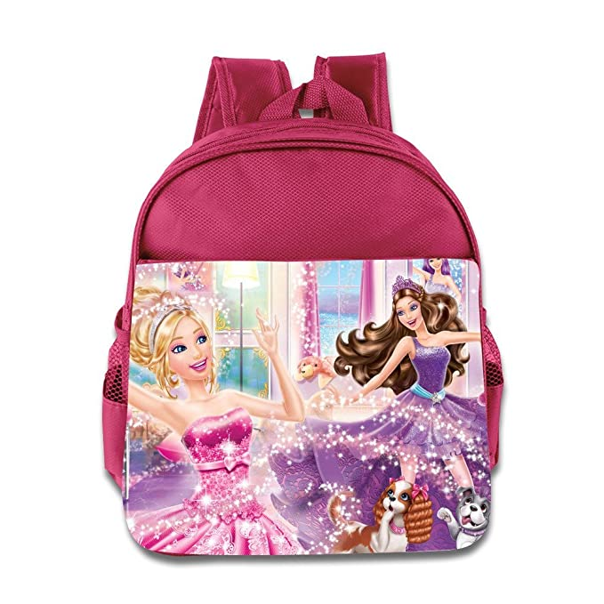 Niños Barbie en princesa poder escuela mochila moda para bebé Niños Niñas Mochila Escolar: Amazon.es: Hogar
